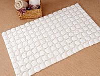 Набор ковриков в ванную Irya Bubble молочный 60*100 + 45*60