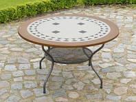 Стол с каменной столешницей Como 125-130 см