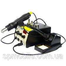Паяльная станция BAKU BK761D цифровая индикация на фен на аналоговая паяльник