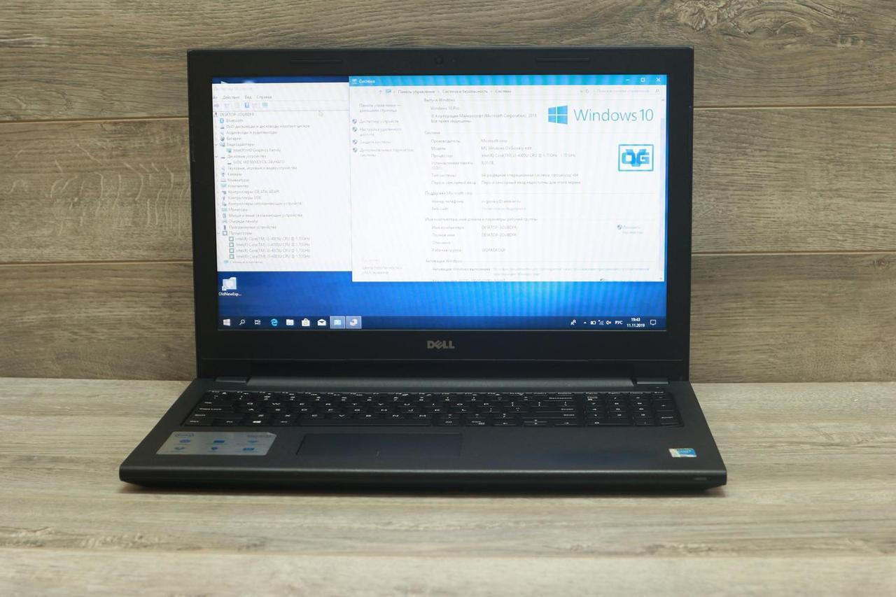 "Б/У Ноутбук Dell Inspiron 15 3542 15,6""/i3-4005U/4GB/500 GB/HD Graphics, фото 1"
