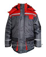 """Куртка утепленная """"Дамаск"""" с капюшоном"""