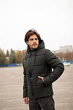"""Куртка мужская  зимняя хаки """"Glacier"""" 3 цвета"""