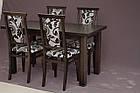 Обеденный комплект: стол Классик и стулья Марек 1 Марко™, фото 6