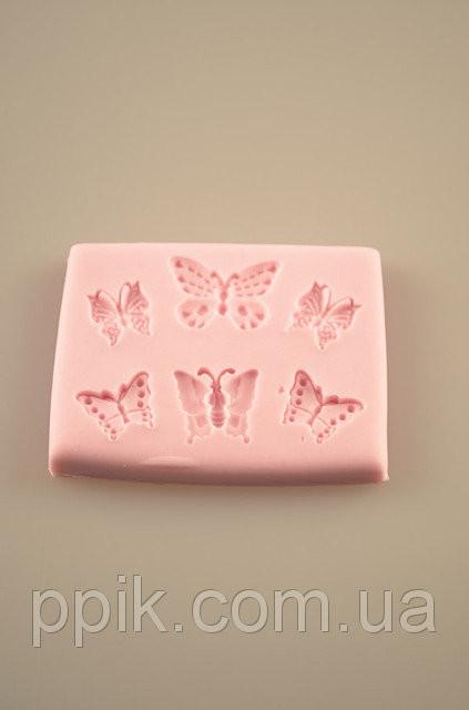 Молд для мастики Бабочки