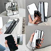 Зеркальный чехол TPU для телефона Xiaomi Redmi 5 Plus зеркало на ксиоми сяоми редми 5 плюс бампер дзеркальний