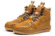 Зимние мужские кроссовки 30917, Nike LF1 Duckboot, рыжие ( 44 45  ), фото 7
