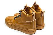 Зимние мужские кроссовки 30917, Nike LF1 Duckboot, рыжие ( 44 45  ), фото 8