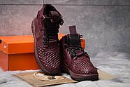 Зимние женские кроссовки 30926, Nike LF1 Duckboot, бордовые ( 36  ), фото 3