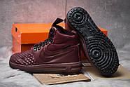 Зимние женские кроссовки 30926, Nike LF1 Duckboot, бордовые ( 36  ), фото 4