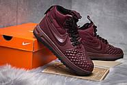 Зимние женские кроссовки 30926, Nike LF1 Duckboot, бордовые ( 36  ), фото 5
