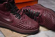 Зимние женские кроссовки 30926, Nike LF1 Duckboot, бордовые ( 36  ), фото 6