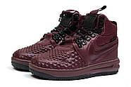 Зимние женские кроссовки 30926, Nike LF1 Duckboot, бордовые ( 36  ), фото 7