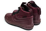 Зимние женские кроссовки 30926, Nike LF1 Duckboot, бордовые ( 36  ), фото 8