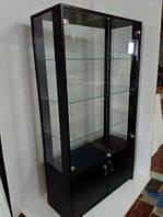 Витрина стеклянная из ДСП, Торговая витрина, Стеллаж со стеклом