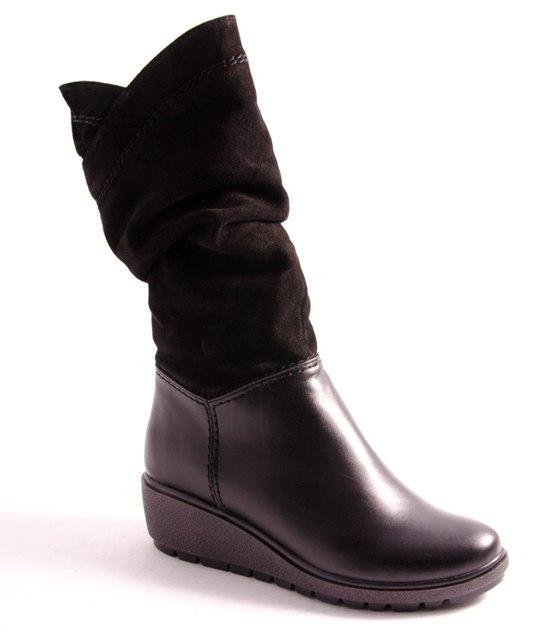 Сапоги женские черные Romani 8250605/2 р.36-41, фото 1