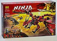 "Конструктор Ниндзяго Bela 10938 (аналог Lego Ninjago 70653) ""Первый Страж"", 918 дет лего нінзяго"