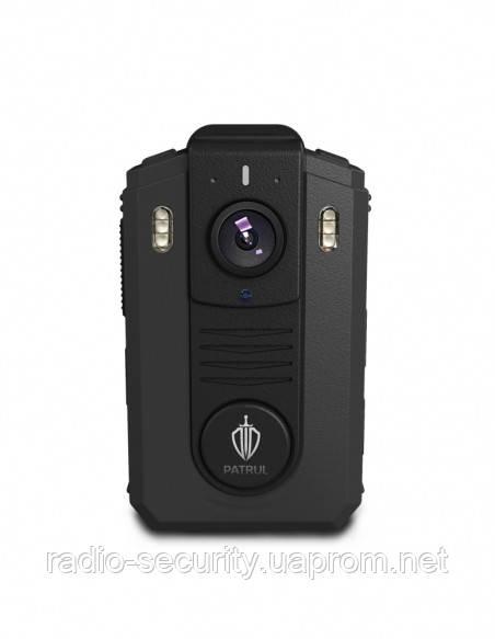 Нагрудний відеореєстратор з Wi-fi для охорони Patrul-X-02