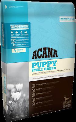 Корм Acana Puppy Small Breed Акана Папi Смол Брід для цуценят малих порід з курчам та камбалою 340 г