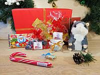 """Новогодний детский подарочный набор с именным письмом """"Happy Christmas Hamster"""""""