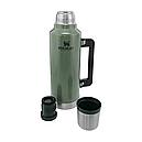 Термос туристический питьевой Stanley Legendary Classic (1.9л), зеленый, фото 4