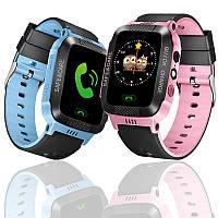 Детские смарт-часы F1 с GPS трекером. Smart Watch детские умные часы, часы детские