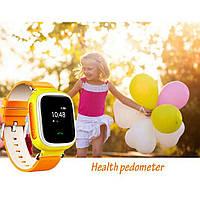 Детские смарт-часы q80 с gps трекером. smart watch детские умные часы, умные часы детские