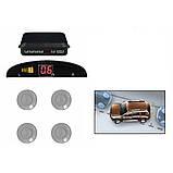 Парковочная система для автомобиля | Парктроник на 4 датчика ASSISTANT PARKING SENSOR PS-201, Парктроники, фото 3