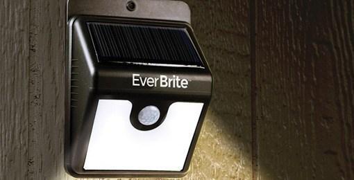 Подсветка с датчиком движения 12 led wall lights, светильник с датчиком движения на солнечной панели