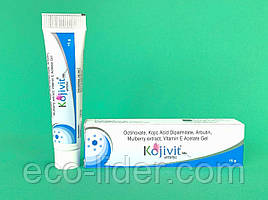Коживит гель с 2% койевой кислотой Kojivit Gel от пигментации кожи, 15 г