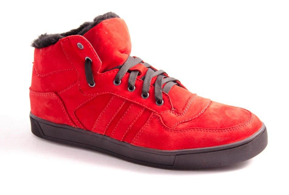 Ботинки мужские красные Romani 7371612/2 р.40-45