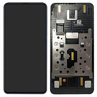 Дисплей для Xiaomi Mi Mix 3 (M1810E5A), модуль (экран и сенсор), с рамкой, оригинал (Amoled)