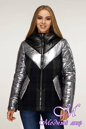 Короткая зимняя куртка женская (р. 44-54) арт. 12-13/4, фото 2