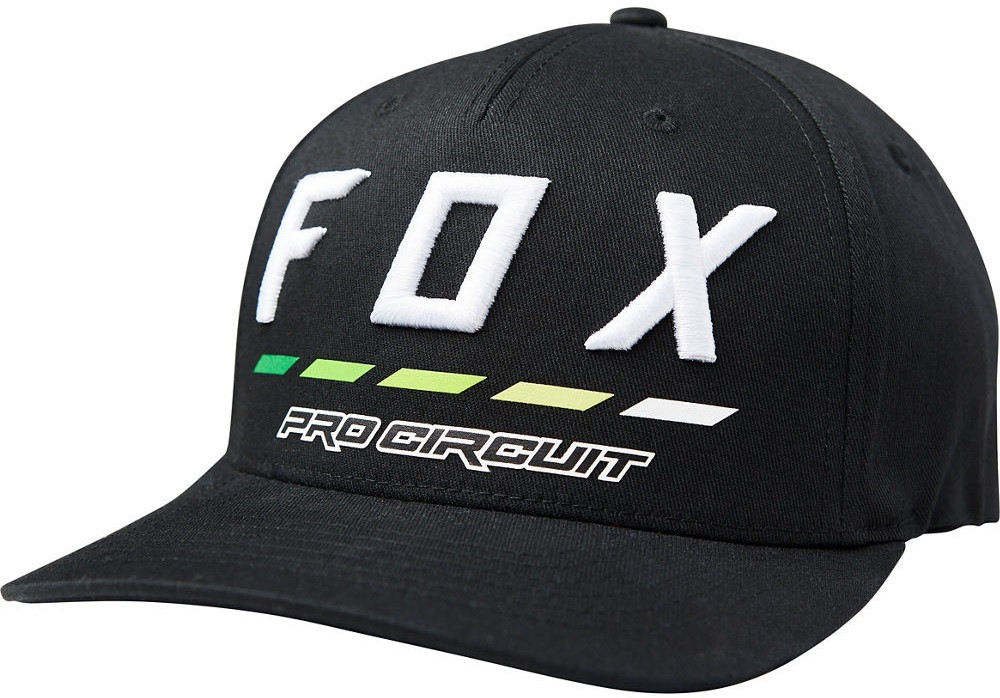 Кепка Fox Pro Circuit Draftr Flexfit Hat чорна, S/M