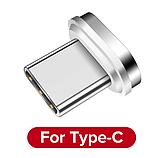 GETIHU Магнитный кабель USB type-c тип №2 быстрая зарядка 3А для Android Samsung Xiaomi Цвет красный, фото 2