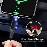 GETIHU Магнитный кабель USB type-c тип №2 быстрая зарядка 3А для Android Samsung Xiaomi Цвет красный, фото 4