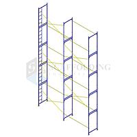 ✅Леса строительные рамного типа 6 x 10 h