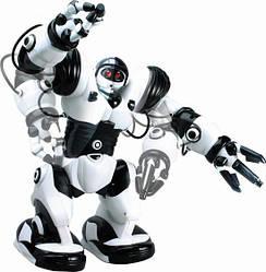 Робот на р/у 28091 (Бело-черный) на радиоуправлении, подарок для ребенка