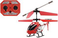 Вертолет аккум р/у 33008 красный на радиоуправлении, подарок для ребенка