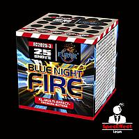 Фейерверк Blue Night Fire на 25 выстрелов