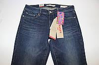 Подростковые школьные джинсы для девочек, демисезонные синие, размер 25