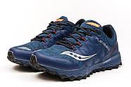 Кроссовки мужские 15006, Saucony Everun, темно-синие ( 41 43 44 45 46  ), фото 7