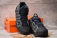 Кроссовки мужские 15215, Nike Air Uptempo, темно-синие ( 42 44 45  ), фото 3