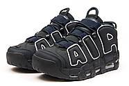 Кроссовки мужские 15215, Nike Air Uptempo, темно-синие ( 42 44 45  ), фото 7