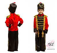 Карнавальный костюм  Гусара Щелкунчика Оловянного солдатика детский