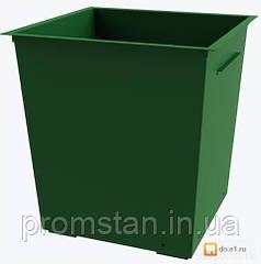 Изготовление металлических контейнеров для мусора, мусорных баков без крышки