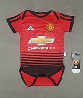 Детский боди Манчестер Юнайтед