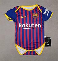 Детский боди Барселона гранатовый