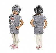 Карнавальный детский костюм ежика. Мальчик-девочка.