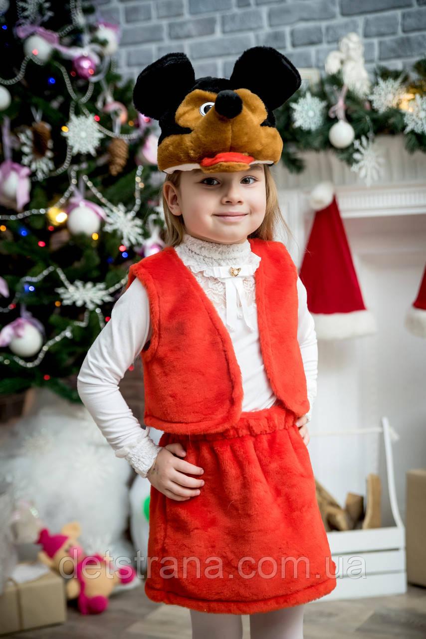 Карнавальный костюм Микки Маус для девочки