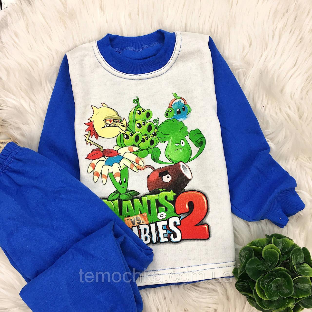 Пижама для дома и сна детская Растения против зомби Plants vs. Zombies